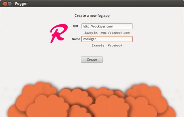 Websites in Ubuntu integrieren