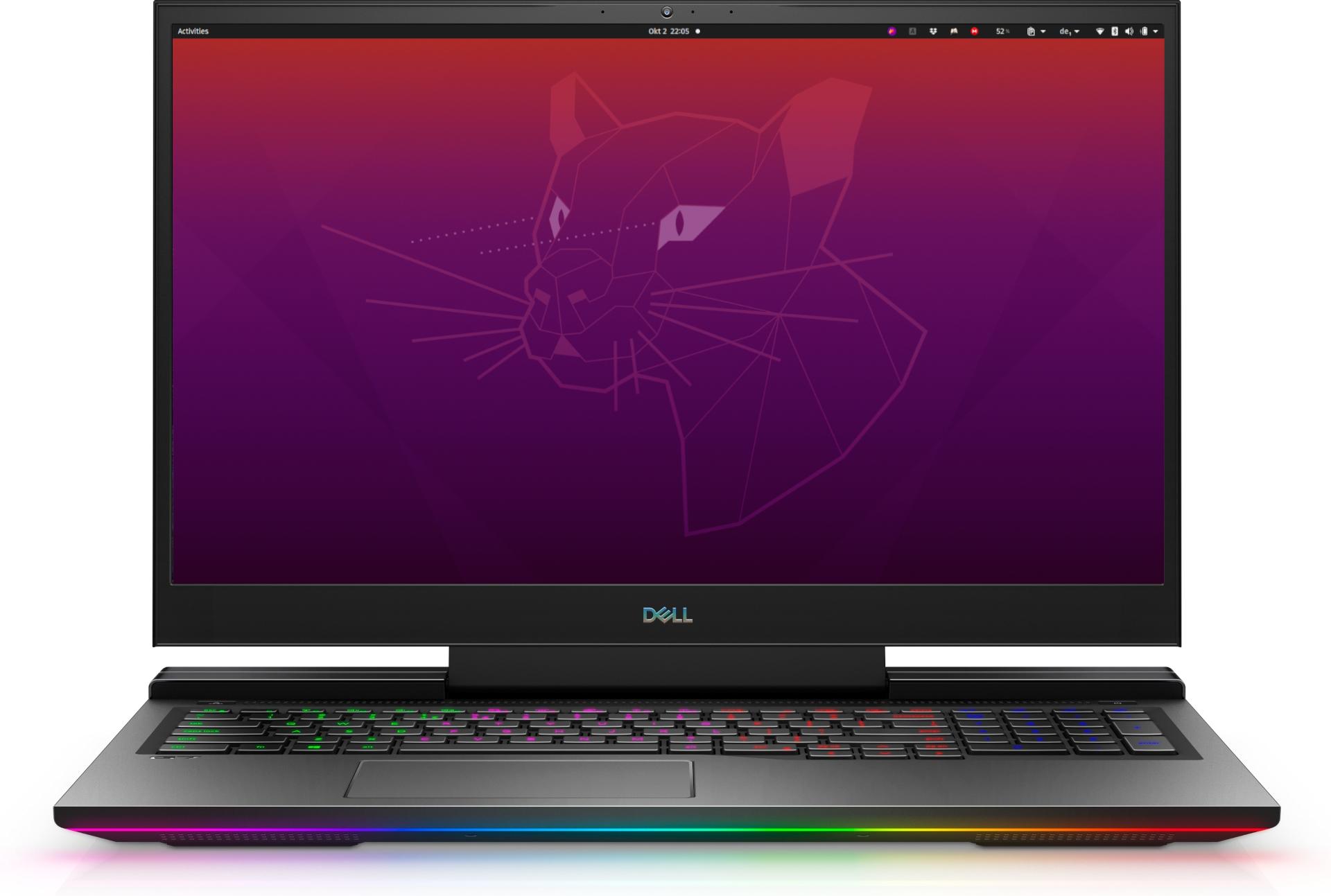 Dell G7 17 7700 mit Ubuntu 20.04