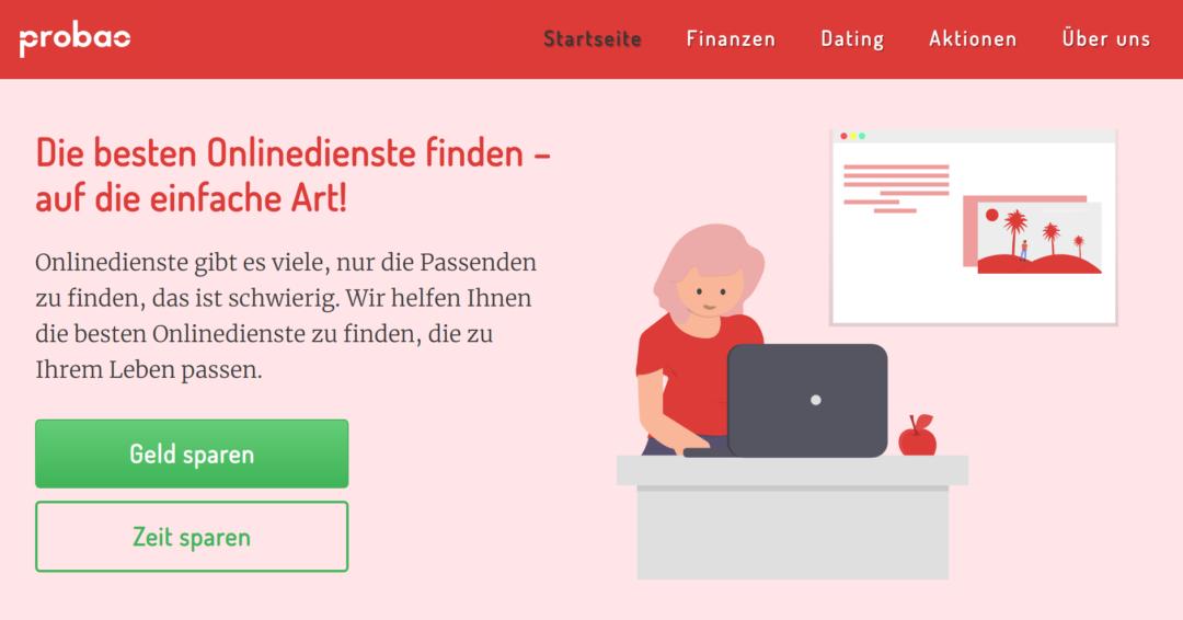 Startseite: Probao.de